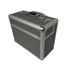 Aluminium sliver trolley pilot case business briefcase