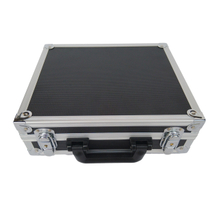 custom stylish aluminum case with foam insert