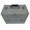 Aluminum storage vanity make-up cosmetic case